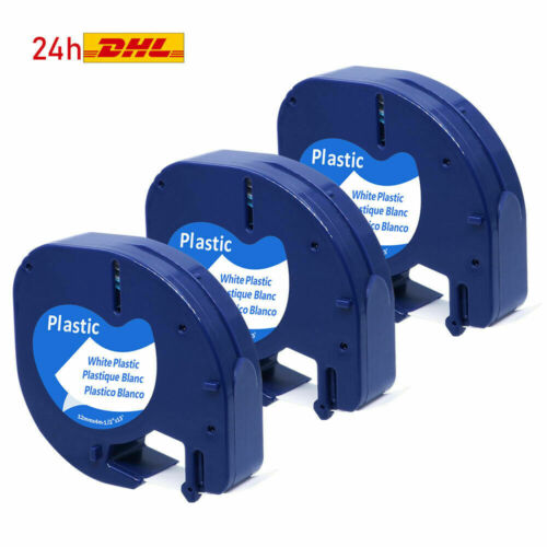 Kompatibel zu Dymo LetraTag Schriftband dymo 45013 45010 40913 40910 91221 91220
