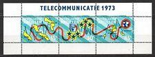 Dutch Antilles - 1973 Telephone cable Mi. Bl. 2 MNH