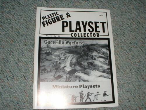 Lilliputians etc PFPC #18  1992 Guerilla Warfare Marx miniature sets