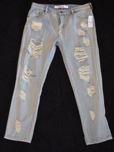 Jeans Boyfriend Størrelse med Sky Arizona Melville mærker Ny 29 Brandy Distressed P8Hq0WwW