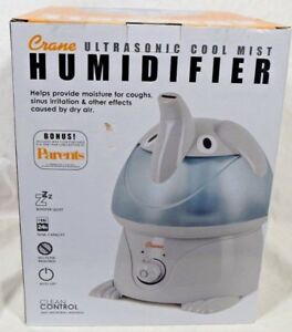 Details about Crane Humidifier Ultrasonic Cool Mist Humidifier Lightly Used Great Condition