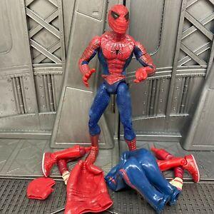 Marvel-Legends-Toybiz-Spider-man-Wrestling-Gear-6-034-Figure-Removable-Mask-RARE-2