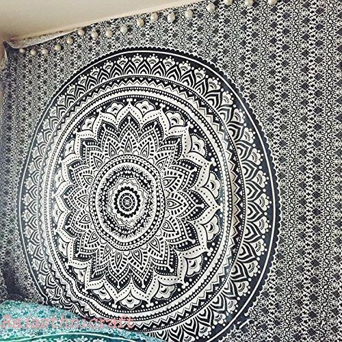 Indian Mandala Bedding Bedspread Tapestry Hippie Bohemian Wall Hanging Throw art