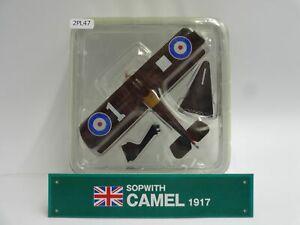 Del-prado-Sopwith-Camel-Diecast-Escala-1917-1-63-aviones-de-guerra-pantalla-47