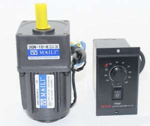 220V-AC-Gear-Motor-Electric-Motor-Variable-Speed-Controller-Reduction-Ratio-1-10