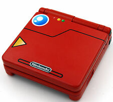 Custom Printed & rociado Pokedex Pokemon Nintendo Game Boy Advanced Sp SP
