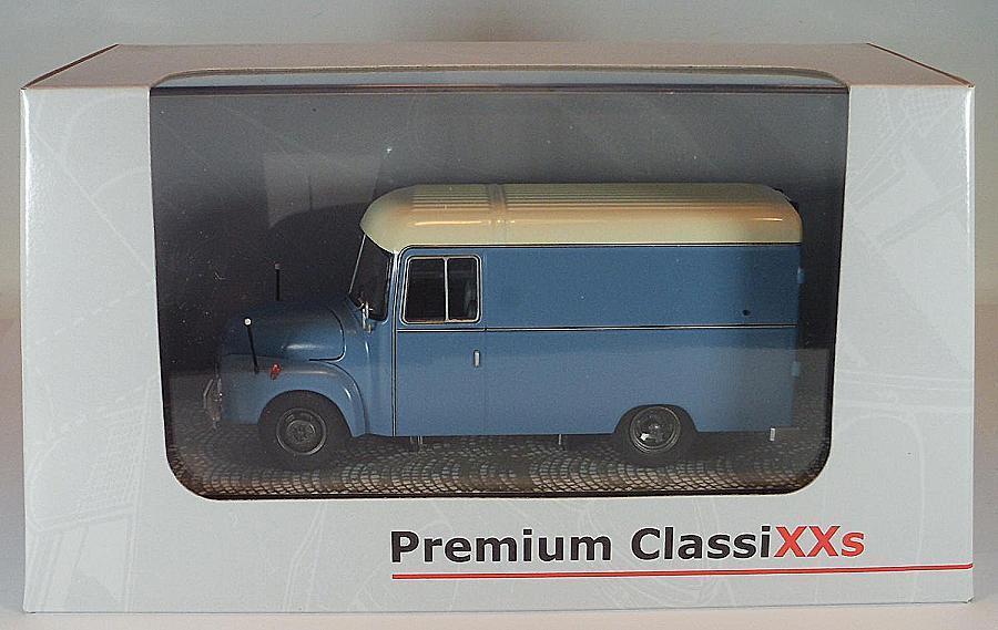 Premium CLASSIXX 1 43 Opel Blitz 1,75t furgoneta furgoneta furgoneta azul claro OVP  2757 ccae20