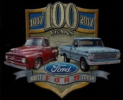 "Sizes M-3XL New T-shirt Ford Pickup Truck /""Field of Dreams/"" Blue Dusk"