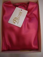 """Dkaren """"Karen"""" Luxury Sexy Satin Boxer Shorts Pyjamas Pink Size 10 BNIB"""