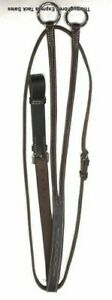 D-A-Brand-Medium-Oiled-Fancy-Stitched-Raised-Running-Martingale-English-Equine