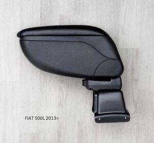 Fiat-500L-2013-2014-2015-2016-Armrest-Centre-Console-Black-Storage-Adjustable