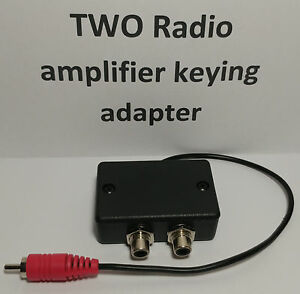 Two Radios To Key An Amplifier Keying Adapter Relay Interface Amateur Radio Ebay