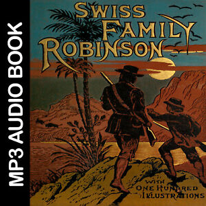 The-Swiss-Family-Robinson-audio-books-MP3-audibook-download-digital-product