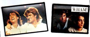 GEORGE-MICHAEL-WHAM-x-2-sew-on-photo-patches-vintage-ANDREW-RIDGELEY-set-4