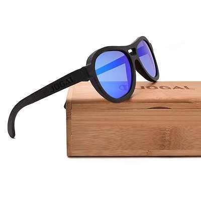 Vintage Retro Handmade Bamboo Sunglasses Polarized Wooden Frame Mirrored glasses
