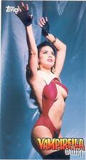 VAMPIRELLA GALLERY 1995 TOPPS WIDEVISION PROMO CARD P6