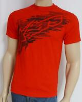 Alpinestars Fractured Logo Red 100% Cotton T-shirt Mens Small