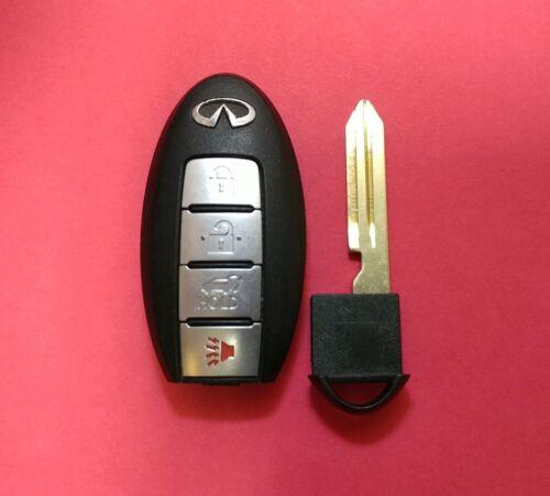 OEM Infiniti QX56 Smart Key Keyless Remote 4B Hatch CWTWB1U787