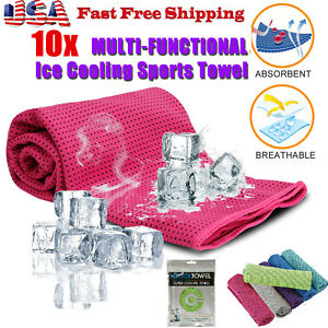 10x-wholesale-lot-ice-Cooling-Towel-for-Sports-Workout-Fitness-Gym-Yoga-Pilates