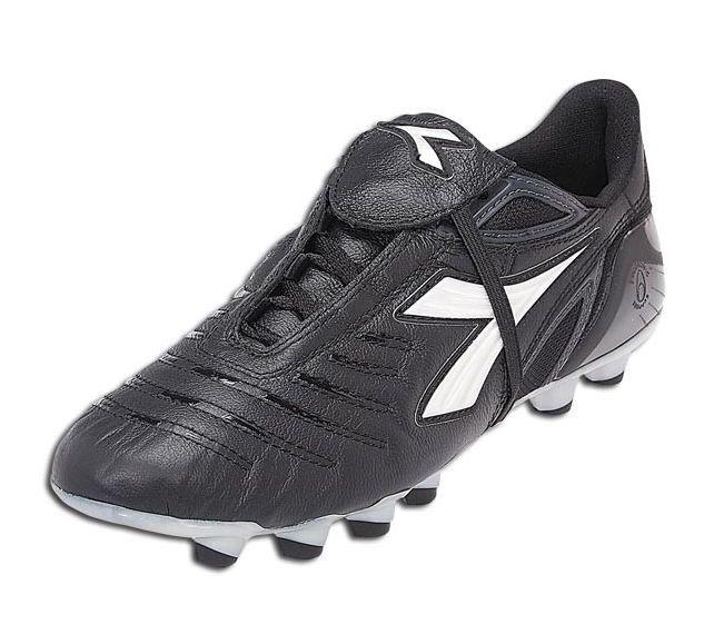 Auténtico Diadora Maracana MD PU W Mujeres Botines de Zapatos de fútbol profesional US 10.5