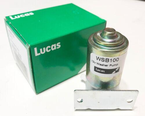 Classic Minis NEW Lucas 12v Washer Wiper Pump