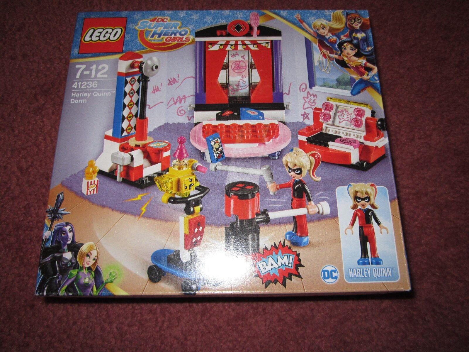 LEGO SUPER HERO GIRLS HARLEY QUINN DORM 41236 - NEW/BOXED/SEALED