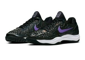 Rafael Nadal Player Sample Nike Zoom Cage 3 Hc Sz 11 Black Purple Tennis Shoes 193150010538 Ebay