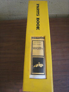 Details about Komatsu WA320-3 3LE Wheel Loader Tractor Parts Book Manual  BEPBW19070 Used