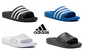 Adidas Mens Womans Adilette Sliders Slides Slip On Flip Flops Sandals Beach Pool