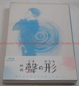Nuevo-una-voz-silencioso-no-Koe-katachi-Primera-Edicion-Limitada-2-FOLLETO-JAPoN-BLU-RAY