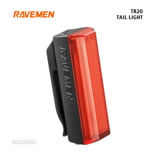 NEW Ravemen TR20 USB Ultralight Rechargeable Bicycle Tail Light