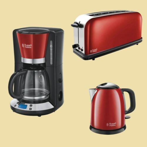 Flame Red Kaffeemaschine// Toaster// Wasserkocher 1,0L Russell Hobbs Colours Plus