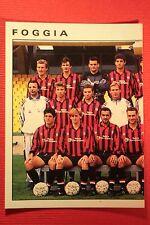 Panini Calciatori 1991/92 1991 1992 N. 132 FOGGIA SQUADRA OTTIMA!!
