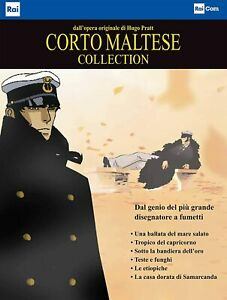Corto-Maltese-Collection-Cofanetto-Con-6-Dvd-Nuovo-Sigillato