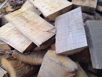 30 Kg - 150 Kg Brennholz Trocken Feuerholz Ofenholz Kaminholz Kastanie Holz