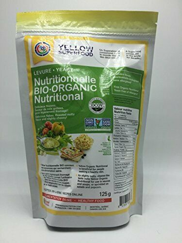 Yellow Superfood Organic Nutritional Yeast, 125g