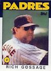 1986 Topps Rich Gossage #530 Baseball Card