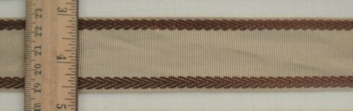 "Flat Trim 5 colorways! Grosgrain w// Embroidered Edge 1 1//2/""w Woven Ribbon"