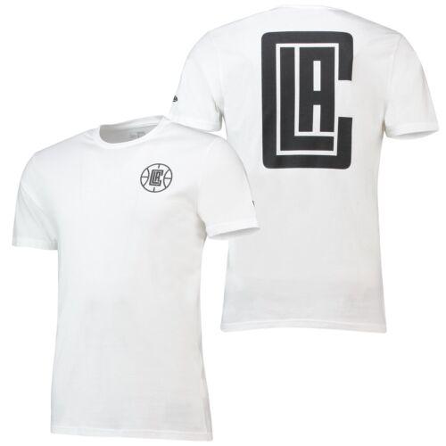 NBA LA Clippers New Era Core Dual Logo Basketball T Shirt Tee Top Kurzarm Herren