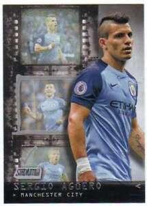 Voetbal 2016-17 Stadium Club English Premier League Team Marks #TM-14 Sergio Aguero