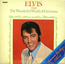 "ELVIS PRESLEY ""THE WONDERFUL  WORLD OF CHRISTMAS""  lp UK mint"