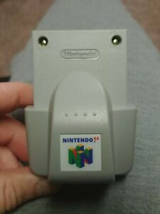 Official-Nintendo-64-N64-OEM-Rumble-pak-Pack-Controller-Shaker-TESTED-Complete