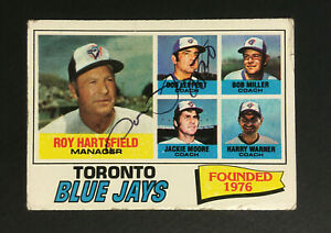 Don-Leppert-Blue-Jays-signed-1977-Topps-baseball-card-113-Auto-Autograph-MK