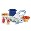 thumbnail 5 - American Girl KIT'S PRODUCE & PRESERVES Jars Strainer Tomatoes Peaches Bow Apron