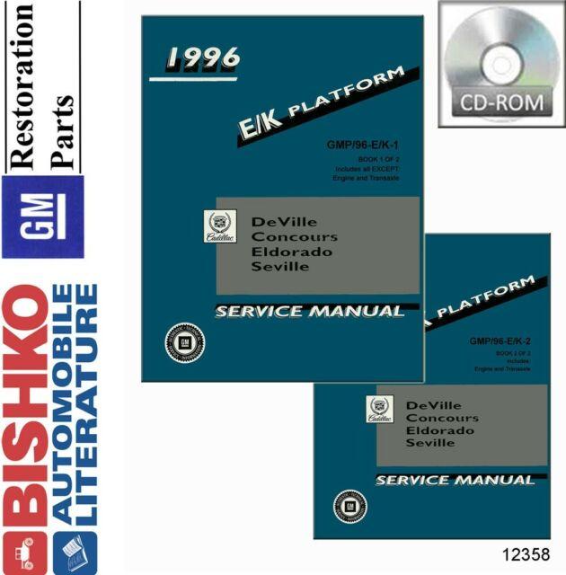 1967 CADILLAC NOS ORIGINAL SERVICE SHOP REPAIR MANUAL BOOK ...