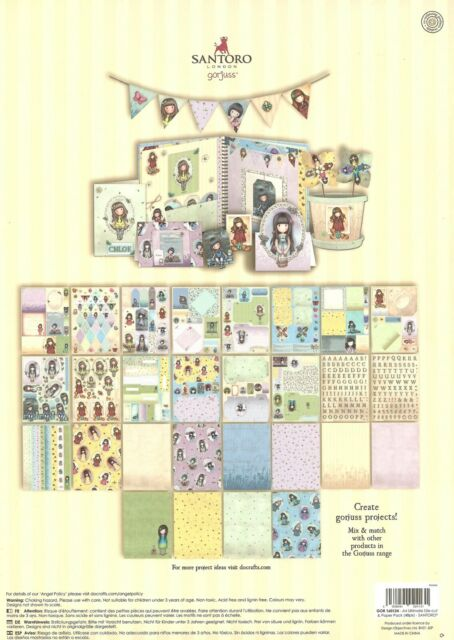 Docrafts Tilly Daydream Ultimate Die-Cut /& Paper Pack A4 48//Sheets TI169100