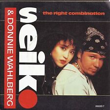 THE RIGHT COMBINATION - GOODBYE MY BABY -- SEIKO and DONNIE WAHLBERG