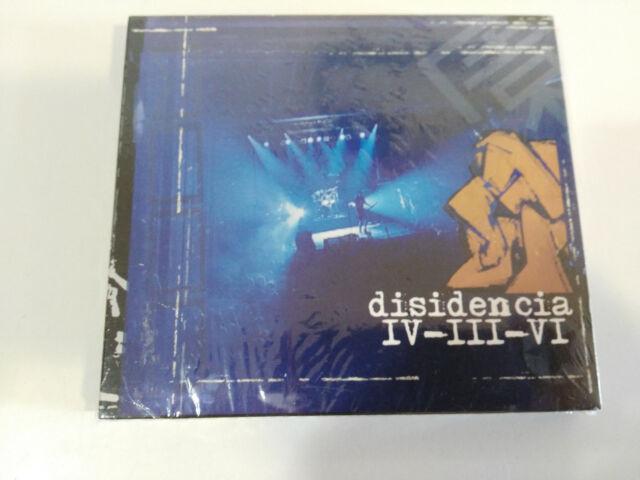 Disidencia Iv-Iii-Vi Santo Grial Records Punk Rock - CD+DVD Neu