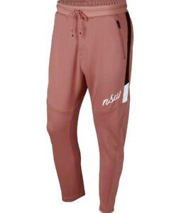 Size Men's Sportswear Nsw 685 Pink 928587 Pants Nike Burgundy L Rust w0qaP6P