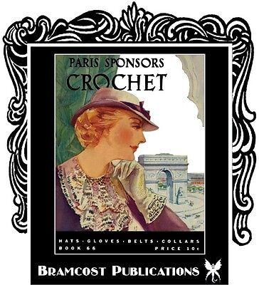 Millinery, Patterns 1938 Hats Purses Crochet Book